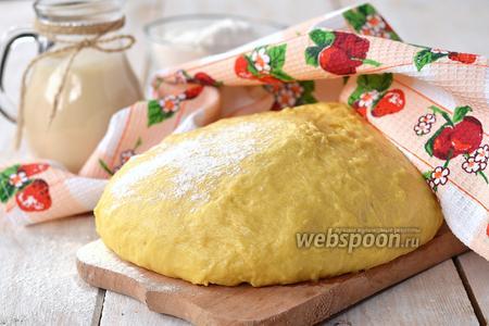 Сдобное дрожжевое тесто на пахте