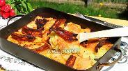 Фото рецепта Картофельный гратен с рёбрышками и беконом
