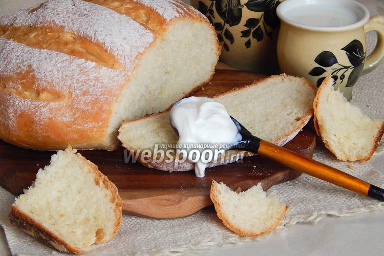 Фото Сметанный хлеб