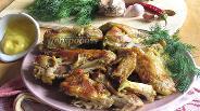 Фото рецепта Куриные крылышки в мультиварке