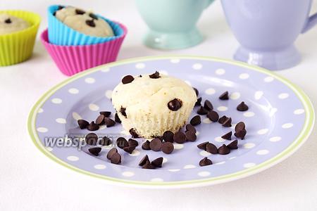 Маффины «Белоснежка» с мороженым