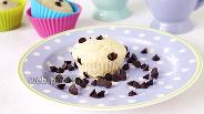 Фото рецепта Маффины «Белоснежка» с мороженым