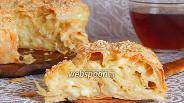 Фото рецепта Пирог-улитка из лаваша с брынзой и сулугуни