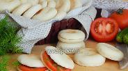 Фото рецепта Батбуты — марокканские пресные мини-лепёшки