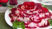 Фото рецепта Салат «Чёрная роза»