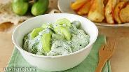 Фото рецепта Огуречный салат с йогуртом