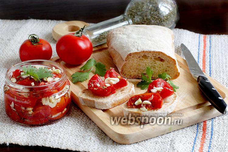 Фото Вяленые помидоры в микроволновке