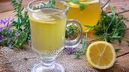 Фото рецепта Домашний лимонад с зелёным чаем и мятой
