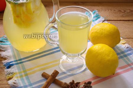 Лимонад с бадьяном и корицей