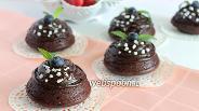 Фото рецепта Шоколадные капкейки «Брауни»