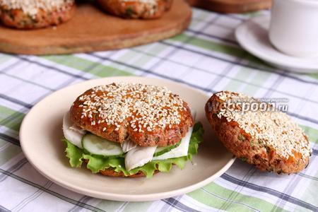 Гамбургеры с адыгейским сыром