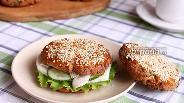 Фото рецепта Гамбургеры с адыгейским сыром