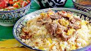 Фото рецепта Узбекский плов из баранины по-хорезмски