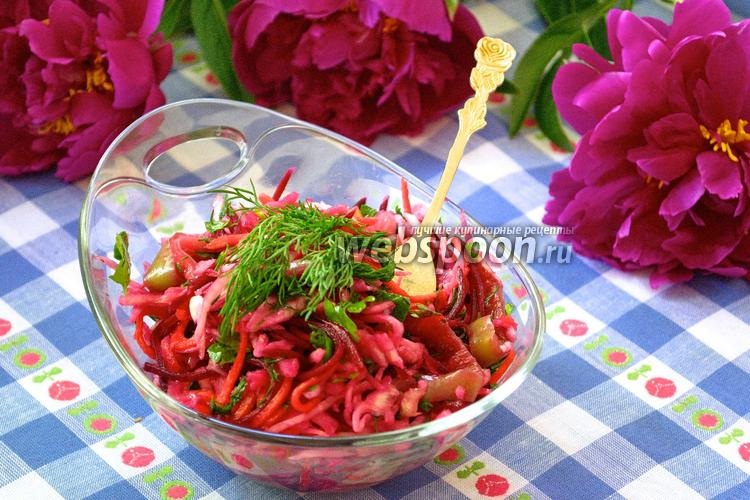 Фото Капустный салат по-гурийски