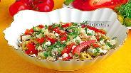 Фото рецепта Салат из сельдерея с консервированным тунцом