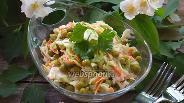 Фото рецепта Салат Хрустик с куриным филе