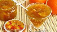 Фото рецепта Варенье из ревеня с апельсинами