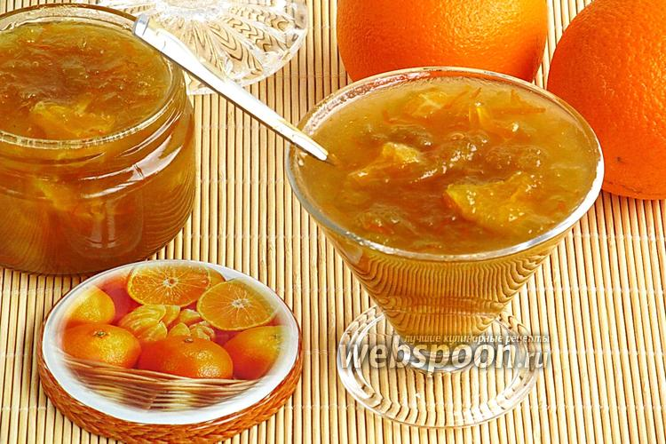 Фото Варенье из ревеня с апельсинами