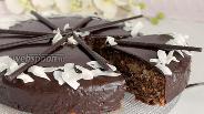 Фото рецепта Шоколадно-кокосовый торт
