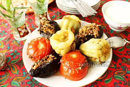 Долма — фаршированные овощи по-азербайджански