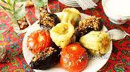 Фото рецепта Долма — фаршированные овощи по-азербайджански