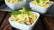 Фото рецепта Салат с бужениной и ананасом