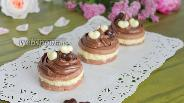 Фото рецепта Шоколадное печенье с кремом
