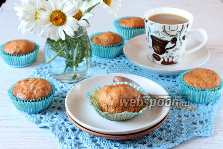 Фото Карамельные кексы с орехами
