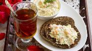 Фото рецепта Яично-сырный крем с копчёной сёмгой