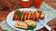 Фото рецепта Коса с творогом и абрикосами