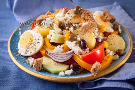 Греческий салат по-критски