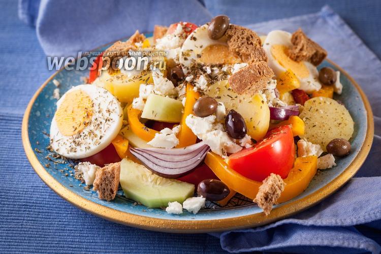 Фото Греческий салат по-критски