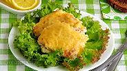 Фото рецепта Горбуша, тушёная в сливках под сырной корочкой