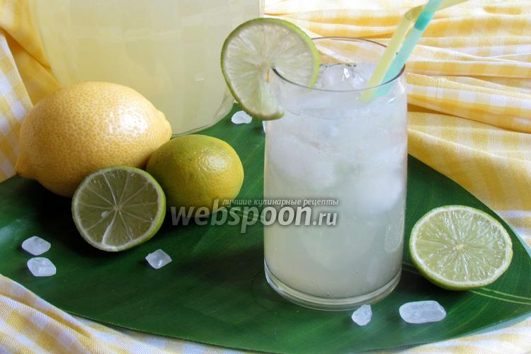 Фото Домашний лимонад из лаймов