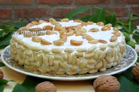 Торт «Ореховый Бум»
