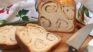 Фото рецепта Хлеб с укропом и сыром в хлебопечке