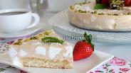 Фото рецепта Клубнично-шифоновый торт