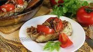 Фото рецепта Свиные котлеты с помидорами и прованскими травами