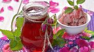 Фото рецепта Сироп из лепестков розы
