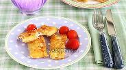 Фото рецепта Конвертики из лаваша с сырной начинкой