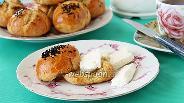 Фото рецепта Хлебные булочки с кунжутом