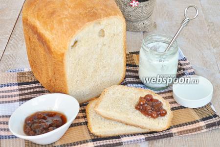 Йогуртовый хлеб с цельнозерновой мукой в хлебопечке