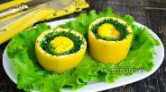 Фото рецепта Яйца, запечённые в цукини