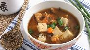 Фото рецепта Мисо суп на креветочном бульоне