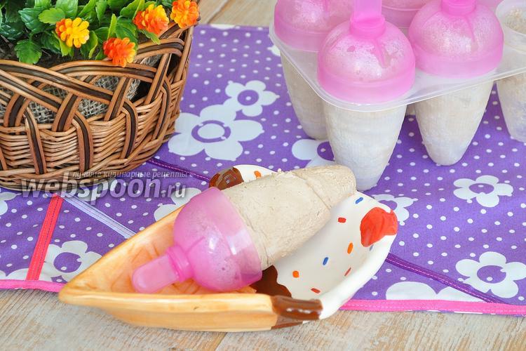 Фото Быстрое шоколадное мороженое