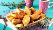 Фото рецепта Пирожки с клубникой жареные