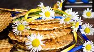 Фото рецепта Нежные вафли с творогом