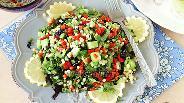 Фото рецепта Свежий салат с кускусом