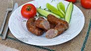 Фото рецепта Колбаски домашние на гриле