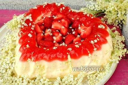 Торт «Клубничная мечта»